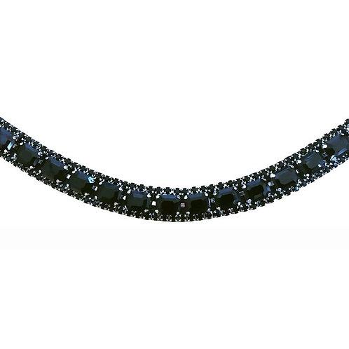 Onyx Crystal Browband
