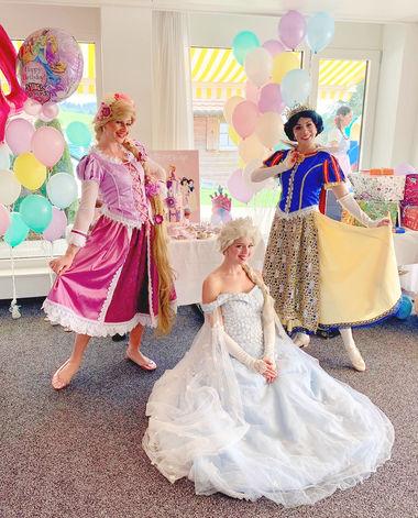 Prinzessin für Kindergeburtstag und Schuleinführung