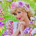 Prinzessin Rapunzel zum Kindergeburtstag mieten