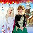 Anna und Elsa zum Kindergeburtstag buchen