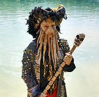 Krake Davy Jones Fluch der Karaibik Animation buchen