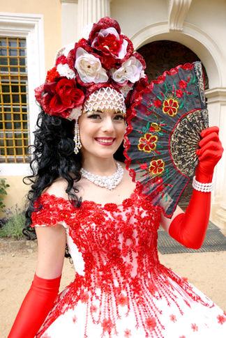Prinzessin Lorena Mexiko für Kindergeburtstag buchen
