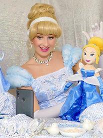 Videobotschaft Videochat mit Prinzessin