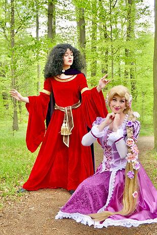 Prinzessin Rapunzel für Kindergeburtstag buchen