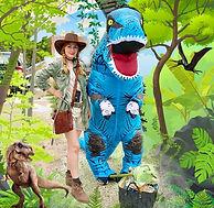 Maskottchen Dino buchen