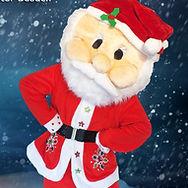 Weihnachtsmann Maskottchen buchen