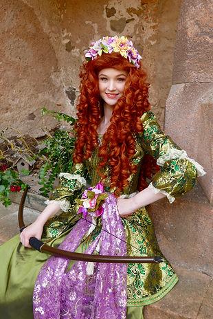 Prinzessin Merida für Kindergeburtstag buchen