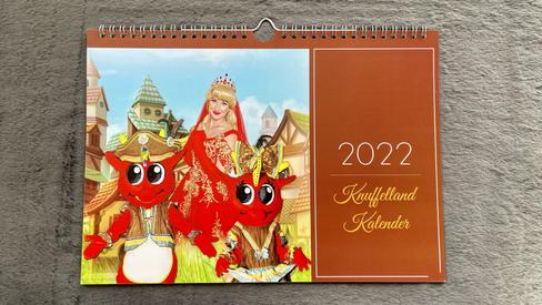 Knuffelland Kalender 2022