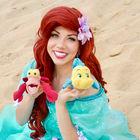 Kleine Meerjungfrau Arielle zum Kindergeburtstag buchen