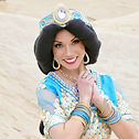 Prinzessin Jasmin und Aladin zum Geburtstag buchen