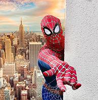Superheld Spiderman buchen