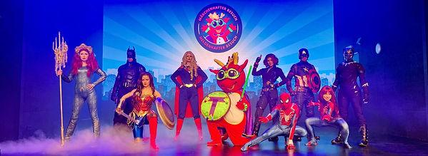 Heldenhafter Besuch - Superheld buchen