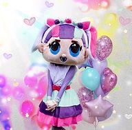 Fashion Doll Maskottchen Kindergeburtstag buchen