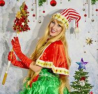 Weihnachten Charakter Weihnachtsfrau buchen