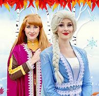 Eiskönigin Elsa und Anna buchen