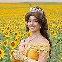 Prinzessin Belle Bella zum Kindergeburtstag mieten