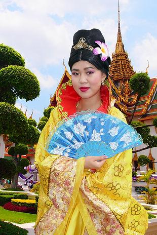 Prinzessin Mulan für Kindergeburtstag buchen