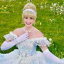 Prinzessin Cinderella Aschenputtel zum Geburtstag mieten