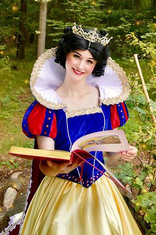 Prinzessin Schneewittchen Snow White für Kindergeburtstag buchen