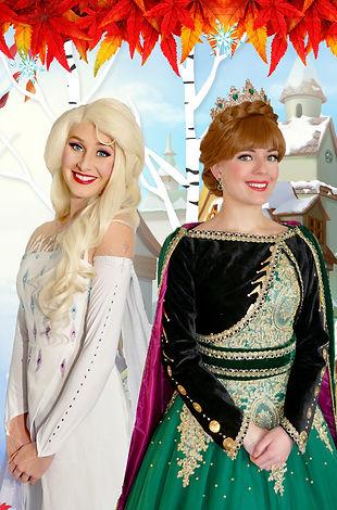 Eiskönigin Elsa und Anna mieten