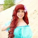 Kleine Meerjungfrau Arielle zum Geburtstag mieten