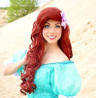 Prinzessin Arielle Kleine Meerjungfrau buchen