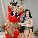 Cowboy und Indianer Pocahontas buchen mieten