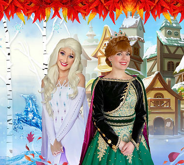 Eiskönigin Elsa und Anna Prinzessin buchen
