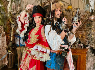 PiratenParty mit Jack Sparrow
