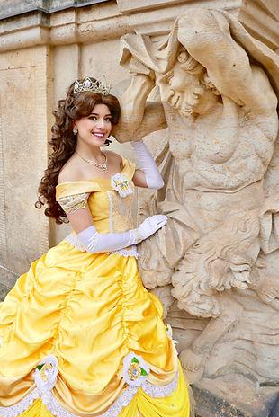 Prinzessin Belle von Die Schöne und das Biest für Kindergeburtstag buchen
