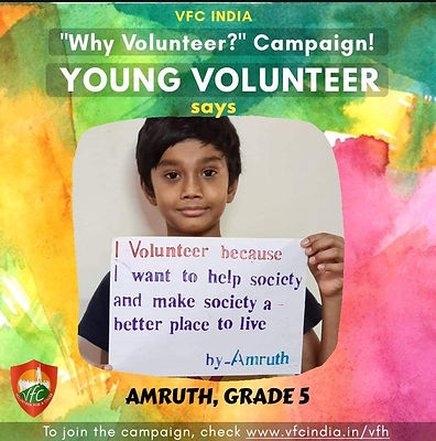 Young Volunteer