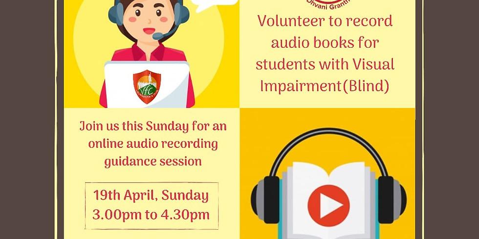 Dhvani Granth- Record Audio Books