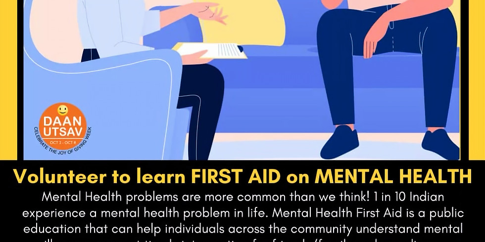 First Aid on Mental Health