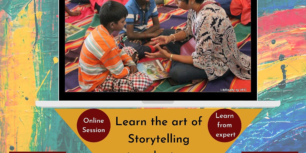 LibReady - Learn the art of Story Telling