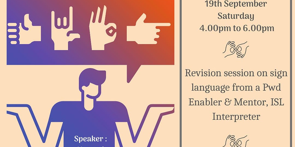 See The Ability - Sign Language Session