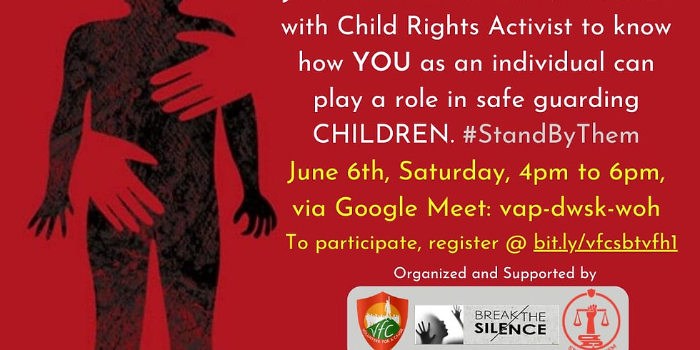Prevent Child Abuse - Stand By Them