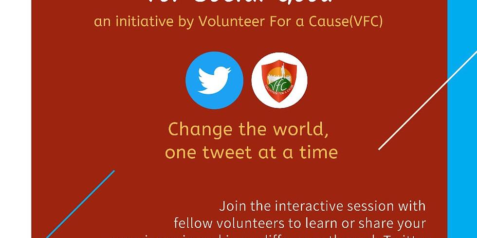 Twitter For Social Good