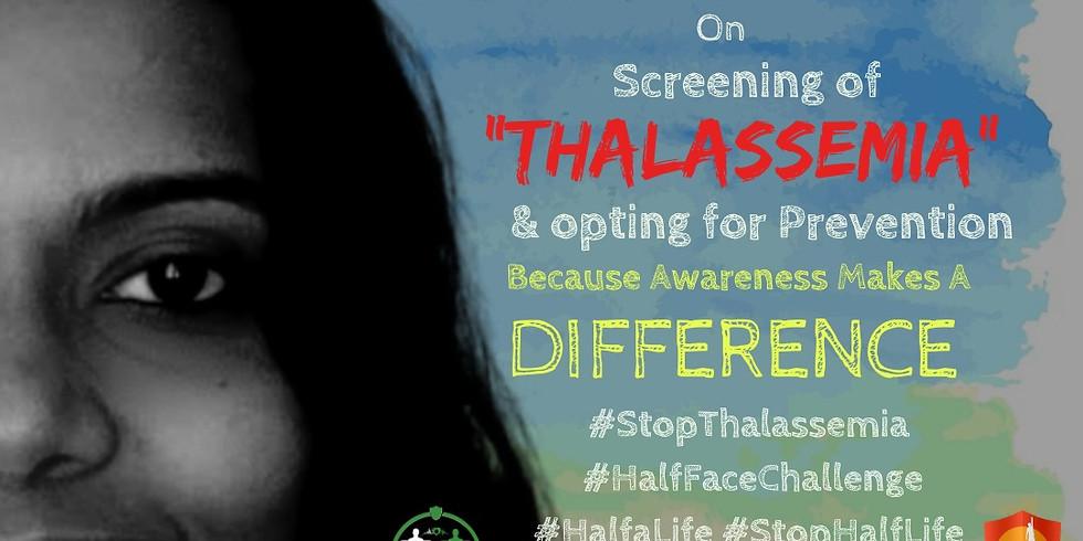 Half Face Challenge - Fight Thalassemia