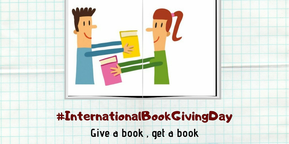 LibReady - International Book Giving Day