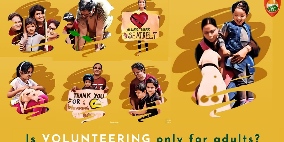 How can I be a 'YOUNG VOLUNTEER'