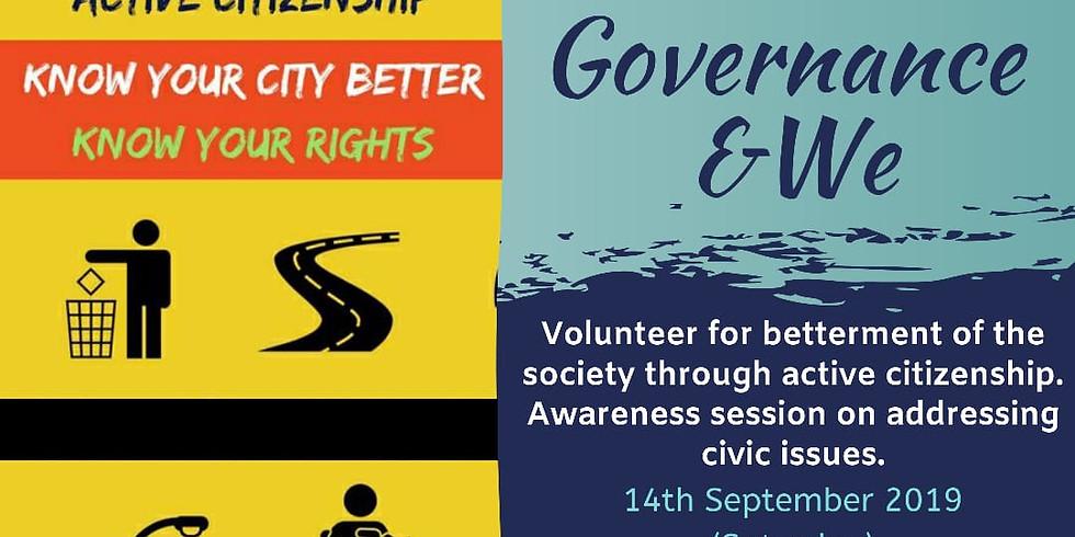 Governance & We - VoluThon 2019