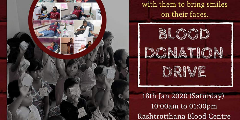 Blood Donation Drive For Kids with Thalassemia