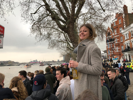 Apr 19 - Our Boat Race Party