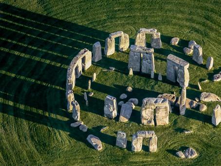 Shooting at Stonehenge begins...