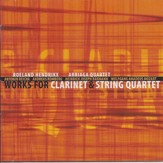 Works for clarinet & string quartet