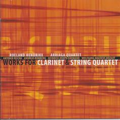 Works for clarinet & string quartet