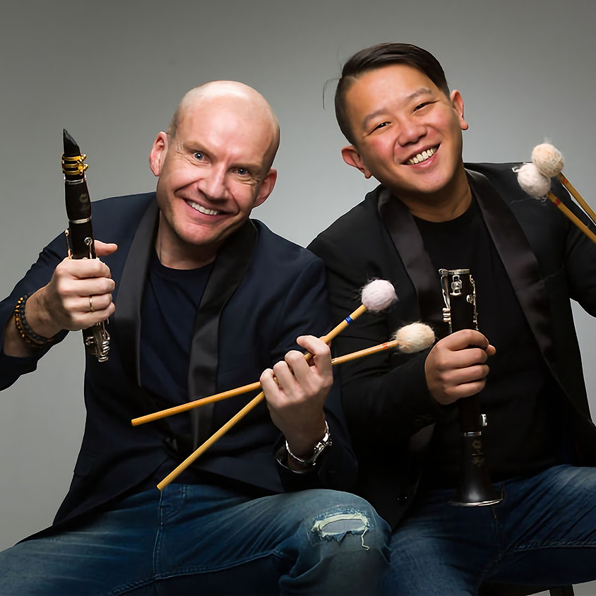 RH & Chin-Cheng Lin | WOOD VERSUS WOOD. clarinet meets marimba  (private performance)