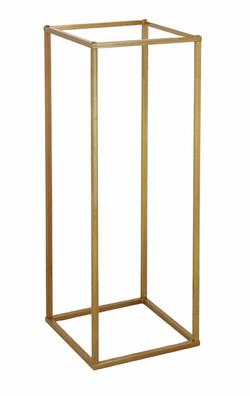 80cm Tall Gold Pedestal Stands