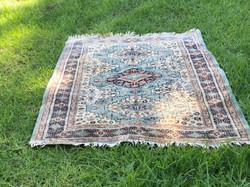Vintage Turquoise Rug