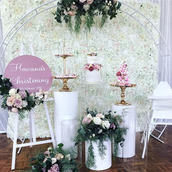 Flower Wall - White